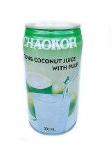 チャオコー ココナッツジュース(果肉入り)350ml